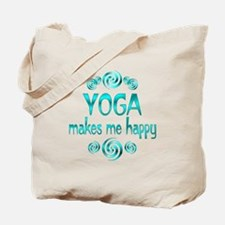 Yoga Happiness Tote Bag