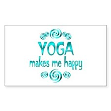 Yoga Happiness Decal