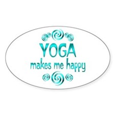 Yoga Happiness Decal