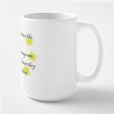 Friends are like Stars Large Mug