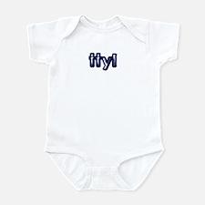 'Plain' Talk To You Later Infant Bodysuit