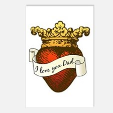 I Love You Dad Postcards (Package of 8)