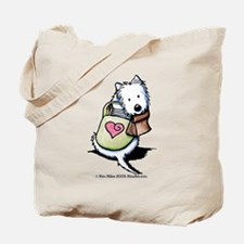 Ready For School Westie Tote Bag