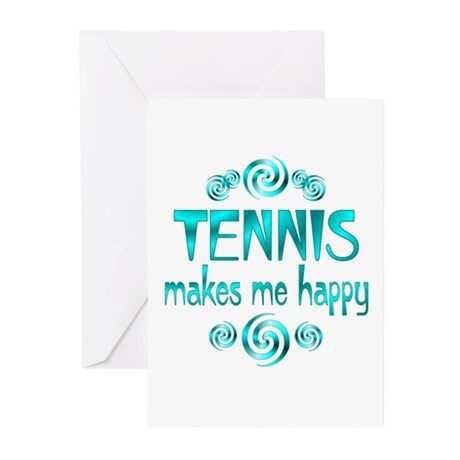 Tennis Greeting Cards (Pk of 10)