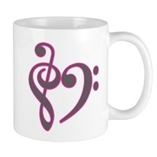 Music Heart Mug