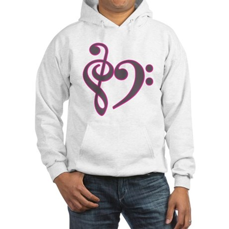 Music Heart Hooded Sweatshirt