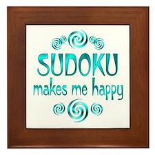 Sudoku Framed Tile