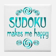 Sudoku Tile Coaster