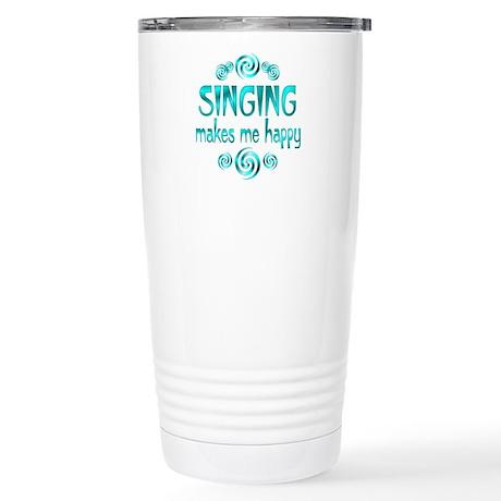 Singing Stainless Steel Travel Mug