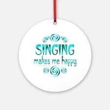 Singing Ornament (Round)