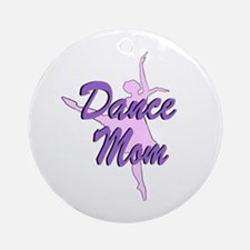 Dance Mom Ornament (Round)