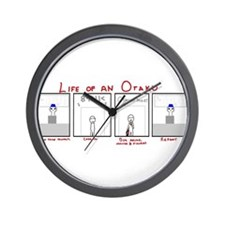 Life of an Otaku Wall Clock