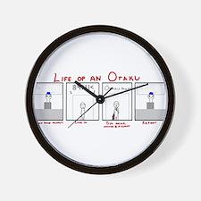 Life of an Otaku Wall Clock
