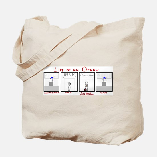 Life of an Otaku Tote Bag