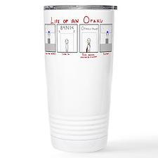Life of an Otaku Ceramic Travel Mug