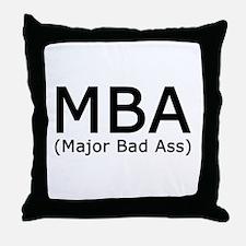 Unique Masters Throw Pillow