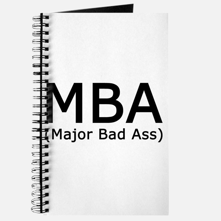 Cute Mba graduation Journal