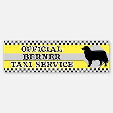 Official Berner Taxi Bumper Car Car Sticker