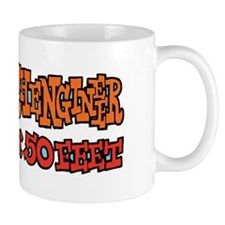 Test Kitchengineer Stay Back 50 Feet Mug
