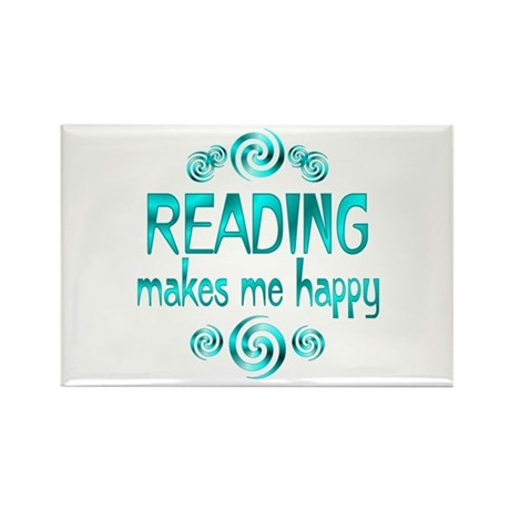 Reading Rectangle Magnet (100 pack)