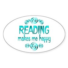 Reading Oval Decal