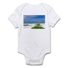 Lido Beach, Sarasota, Florida Infant Bodysuit