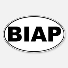 BIAP Oval Decal