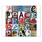 PEACE Signs Small Poster