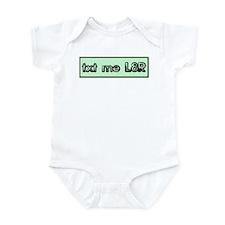 'Alternate Boxed' Text Me Lat Infant Bodysuit