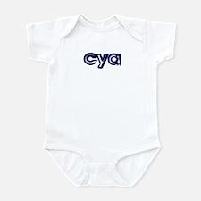 'Plain' See Ya! Infant Bodysuit