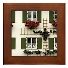 Germany Framed Tile: <br> Oberammergau windows