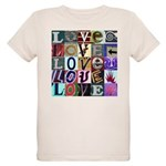 Signs of my Love Organic Kids T-Shirt