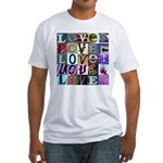 Signs of my Love Fitted T-Shirt