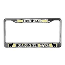 Official Bolognese Taxi License Plate Frame