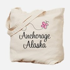 Cute Anchorage Tote Bag