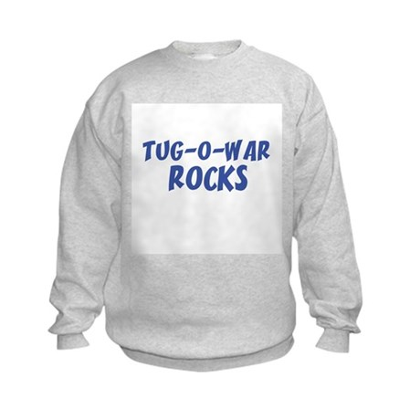 TUG-O-WAR ROCKS Kids Sweatshirt