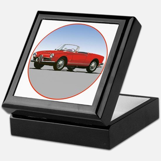 Unique Cars Keepsake Box