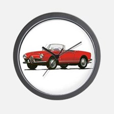 Funny Sports car Wall Clock