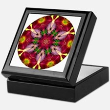 Purple Heart Lily Keepsake Box