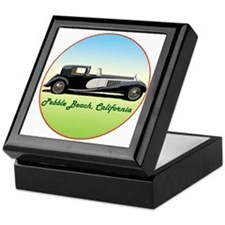 Unique Pebble beach california Keepsake Box