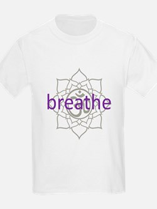 breathe Om Lotus Blossom T-Shirt