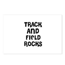 TRACK AND FIELD ROCKS Postcards (Package of 8)
