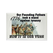 Our Founding Fathers took a s Rectangle Magnet