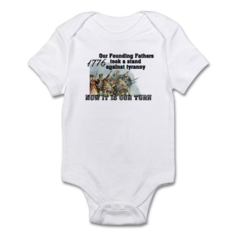 Our Founding Fathers took a s Infant Bodysuit