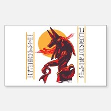 Anubis Rectangle Bumper Stickers
