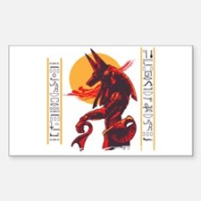 Anubis Rectangle Decal