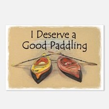 I Deserve a Good Paddling Postcards (Package of 8)