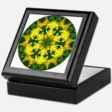 Yellow Lily Keepsake Box