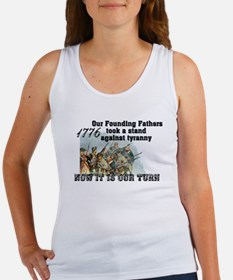 Our Founding Fathers took a s Women's Tank Top
