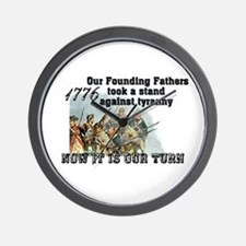 Our Founding Fathers took a s Wall Clock